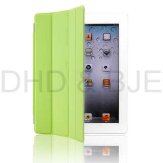 The New iPad 3/3rd Generation Magnetic Smart Cover PU Leather Case