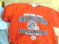 Tampa Bay Buccaneers Super Bowl t shirt Large