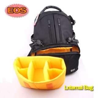 NEW Deluxe Backpack Bag Case Shockproof rain proof for Canon DSLR SLR