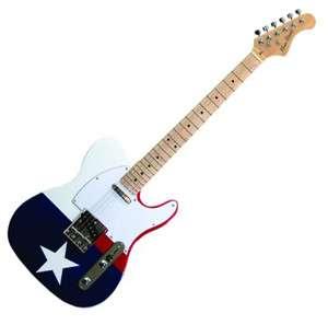 Main Street METLTXF Texas Flag Electric Guitar
