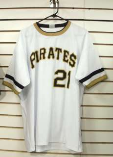 Roberto Clemente jersey throwback style rare Pittsburgh Pirates sz. XL