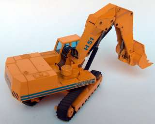DEMAG HYDRAULIC EXCAVATOR GERMAN NZG DIECAST MODEL TOY