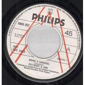 RIDING A CAROUSEL 7 INCH (7 VINYL 45) UK PHILIPS