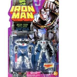 Iron Man Arctic Armor with Removable Armor and Launching Claw Action