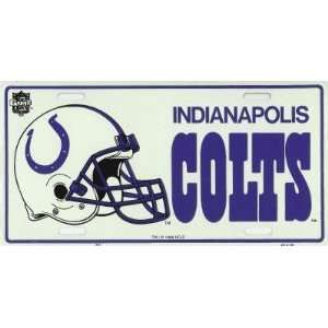 Indianapolis Colts NFL Metal License Plate Sports