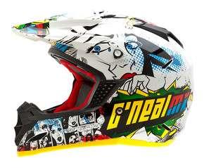 2012 ONeal 5 Series Villain Motorcycle Dirt Bike Helmet