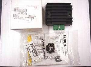 Kawasaki Voltage Regulator & Plug John Deere M97348 NEW