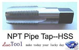 18 NPT pipe tap, HSS(M2), Brand New