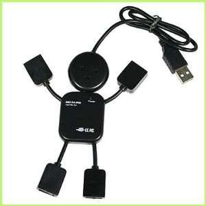 Irobot 4 Port High Speed USB 2.0 HUB for Pc Laptop New in