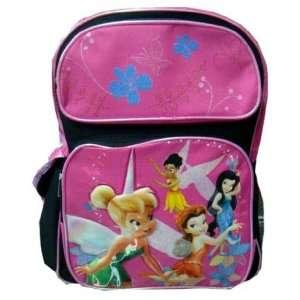 Disneys Tinkerbell & Fairies Kids School Backpack; Officially