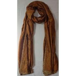 100% Silk High Quality, Hand Woven Long Scarf Neck Wear Wrap, Sofa