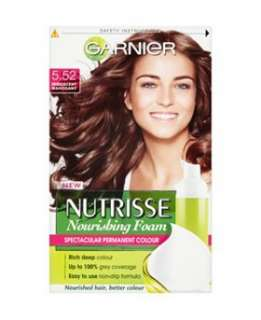 Garnier Nutrisse Nourishing Foam Spectacular Permanent Colour 5.52
