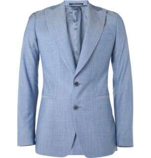 Clothing  Blazers  Single breasted  Peak Lapel Wool