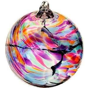 March Birthday Wish Birthstone Hanging Witch Ball Ornament