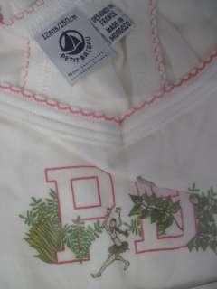 NWT PETIT BATEAU Girls White Chemise Shirt Top Size 12
