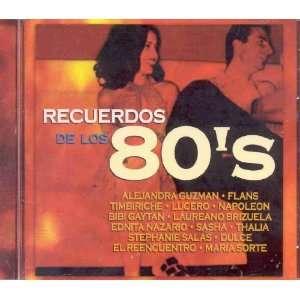 Recuerdos de los 80s: Various Artists: Music