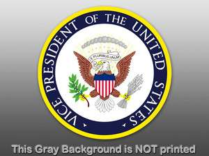 US Vice President Seal Sticker decal white house office