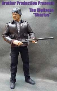 Custom Death Wish Charles Bronson 1/6 Action figure hot