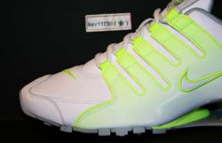 Up for grabs is one pair brand new with Original box NIKE SHOX NZ.