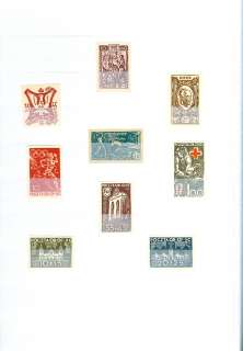POLAND  Very specialized collection of 135 different