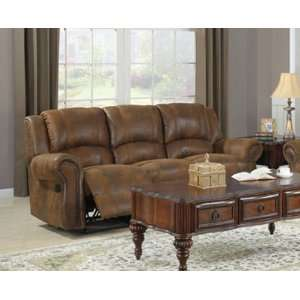 9708BJ 3 Style Double Reclining Sofa By Homelegance