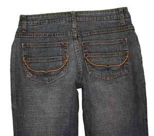 Baileys Point sz 3 / 4 Womens Blue Jeans Denim Pants EG7