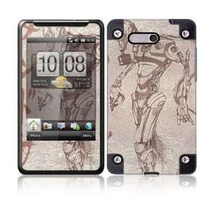 Toxic Birth Protective Skin Cover Decal Sticker for HTC HD