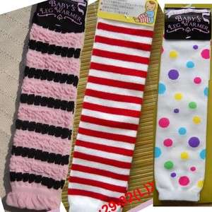 3PAIR NEW INFANT BABY TODDLER LEG WARMERS SAVEING$ W122