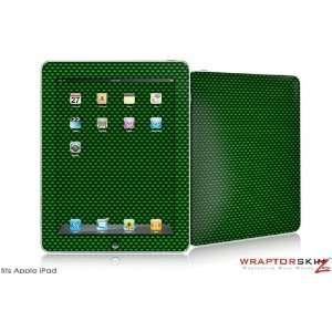 iPad Skin   Carbon Fiber Green   fits Apple iPad by