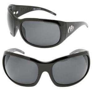 Electric K.O. Polarized Sunglasses Gloss Black/Gray Poly