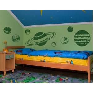 Planet Set   Vinyl Wall Decal