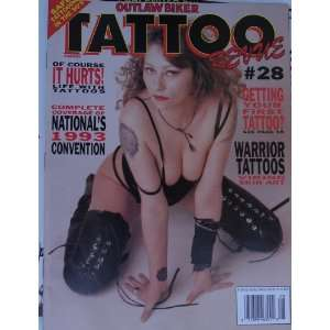 Outlaw Biker Tattoo Revue Magazine #28 Aug. 1993