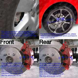 Brembo Brake Caliper Cover 3D 2PCS/4PCS/6PCS 5 Colors to Choose