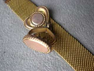 WONDERFUL ANTIQUE GOLD PLATE WATCH FOB
