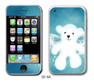 VINYL SKIN CASE COVER for Apple iPhone 3G 3GS Two Sets