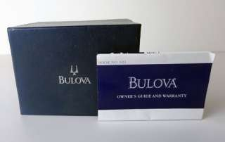 Mens Bulova Quartz T8 two tone Stainless Steel watch