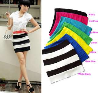 Sexy Korea Women Special Bottom Lovely Candy Knit Skirt Mini Skirt