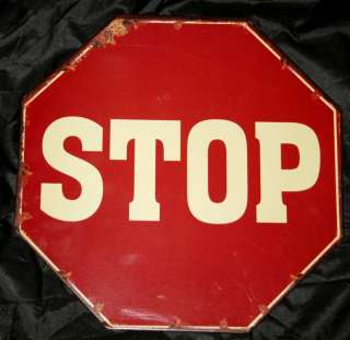 Metal Stop Sign Wall Decor 12 Wide X 12 Tall NEW