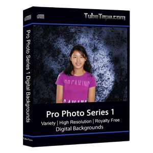 Pro Photo Series I Digital Backgrounds / Backdrops