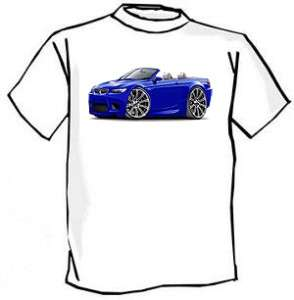 2008 11 BMW M3 e92 e93 Car Art Cartoon Tshirt FREE