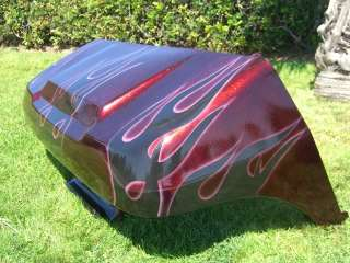 CLUB CAR 1982 Up CUSTOM Marble Flames Golf Cart Body Cowl Front Rear
