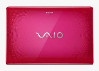 PINK Sony VAIO VPCEB2SFX Laptop Computer 2.26GHz Core i3 3GB 320G 15.5