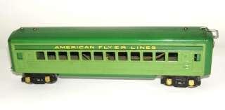 American Flyer Set of (4) O Gauge Passenger Cars 1621 G, 1622 NO