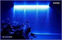 42 blue Wide LED Bar Background Aquarium Lighting Power