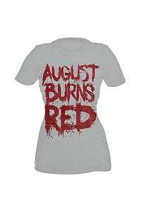 August Burns Red Blood Girls T Shirt