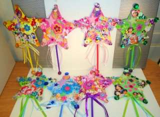 OOAK Large Star Disney Princess Wands Party Favors