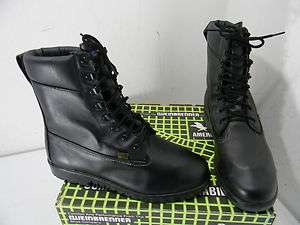 New Mens Weinbrenner Steel Toe Black Leather Boot 6808   Size 10