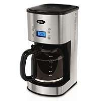 NEW Oster 12 Cup Programmable Coffee Maker   Stainless Steel