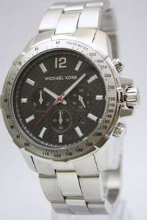 New Michael Kors Round Men Chronograph Watch MK8172