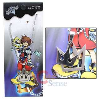 Kingdom Hearts Sora Crown Necklace  Double Crown